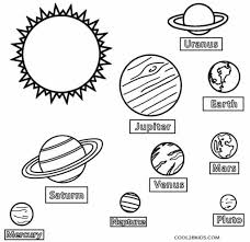 space object solar system planet coloring pages womanmate com