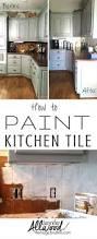 paint over tile backsplash inexpensive ideas for kitchen painting