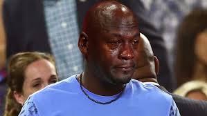 Michael Jordan Meme - no one is exempt from the michael jordan crying meme