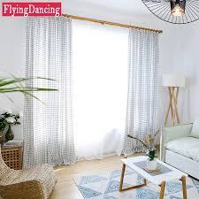 Kitchen Curtain Fabric by Online Get Cheap Kitchen Curtains Blue Aliexpress Com Alibaba Group