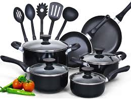home pans cook n home 15 piece nonstick set review