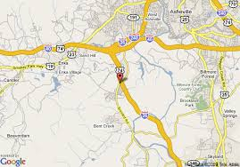 interstate 26 map map of hton inn asheville i 26 biltmore square asheville