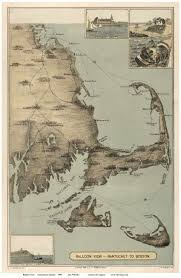 Nantucket Map Old Maps Of The Cape Cod Area