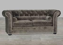 sofa good looking gray velvet tufted sofa cloth couch plush grey