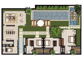 villa floor plan 3 5 bedroom family villa floor plan chandra bali villas
