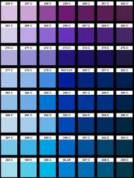 surreality art color chart