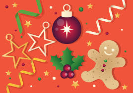 free vector christmas background illustration download free