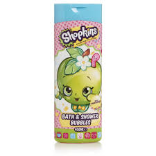 shopkins bath and shower bubbles 400ml at wilko com