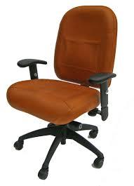 mvp extreme ergonomic chair glove tan leather champion seating