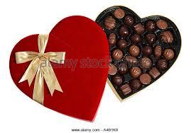 chocolate heart box heart box ribbon chocolates stock photos heart box