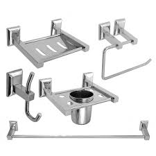 bathroom accessories buy online bath set bathroom accessories set steel aquaria