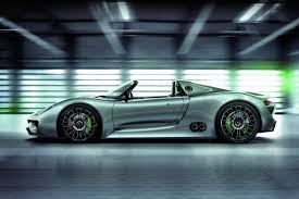 porsche spyder 2018 porsche green lights 918 spyder 718hp plug in hybrid supercar for