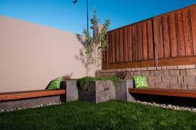 san francisco landscape bench landscape modern with corner benches