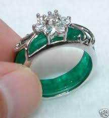 jade engagement ring charming asian carvings green jade rings china mainland