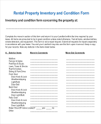 property inventory template addressing of property inventory