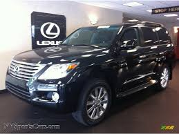 lexus lx 570 black interior 2011 lexus lx 570 in black onyx photo 3 064112 nysportscars