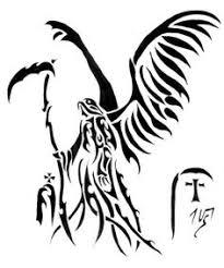 black griffin tribal tattoo design tats pinterest tribal