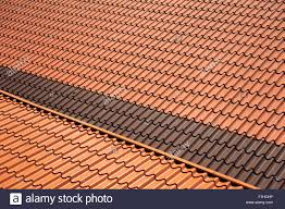 Metal Roof Tiles Metal Roof Tiles Sheet Abstract Texture Stock Photo 87049586 Alamy