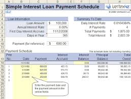 Amortization Table With Extra Payments Free Simple Interest Loan Calculator For Mortgage And Amortization