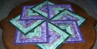 spinning table topper quilting digest