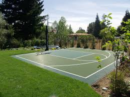 Half Court Basketball Dimensions For A Backyard by Athletic Flooring Basketball Courts Allsport America Inc