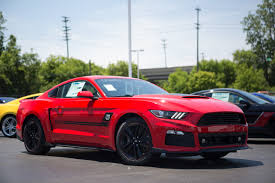 ford mustang limited edition roush creates special limited edition mustang just for u s