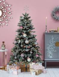 6ft crystal pine cone christmas tree m u0026s