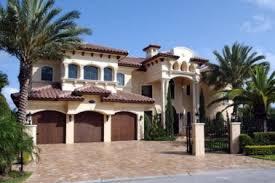 9 mediterranean house plans with spanish hacienda style homes