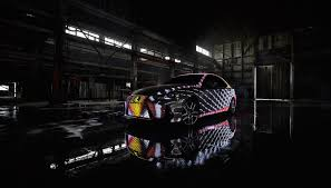 lexus cardboard electric car this lexus is covered in over 40 000 programmable leds slashgear