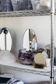 aura home design gallery mirror inside the home and studio of la u0027s newest emerging design star