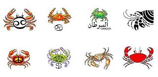 tribal zodiac cancer sign tattoo designs real photo pictures