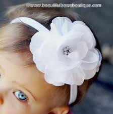 beautiful bows boutique buy white baby flower headband online at beautiful bows boutique