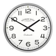 clocksmith clock grey simple british design u2013 cowshed interiors