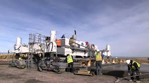 Buckley Afb Map S1500 Slipform Paver Buckley Airforce Base Youtube