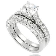 Wedding Rings Sets At Walmart by 12 Best Wedding Rings Images On Pinterest Bridal Rings Bridal