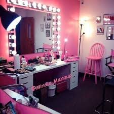 room goals makeup vanity goals