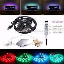 Motorcycle Led Strip Lights by 50cm 5v 5050 Rgb Led Strip Light Colour Changing Usb Tv Pc Back