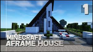minecraft lets build a frame house youtube