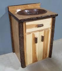 Cabin Vanity Lights Stunning Log Cabin Bathroom Vanities Double And Sinks Vanity