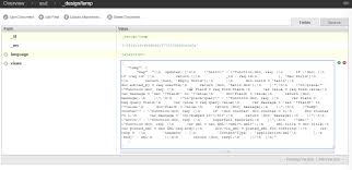 couchdb design document editor update single field in couchdb stack overflow