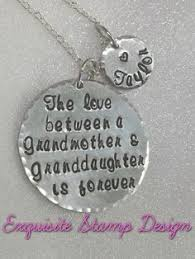 granddaughter jewelry personalized handsted granddaughter keychain necklace