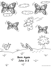 again bible coloring pages