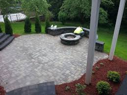 patio ideas outdoor patio designs with fire pit average cost of