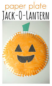 Halloween Craft Kids - 9 paper plate halloween crafts for kids spaceships and laser beams