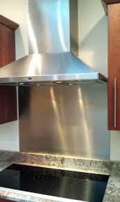 Brushed Stainless Steel Backsplash by Best 20 Stainless Backsplash Ideas On Pinterest Stainless Steel