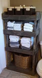 Bathroom Storage Idea Rustic Bathroom Storage Ideas Simple White Marbke Sink Combined