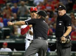 Frank Banister Banister Sets Record For Ejections By Rangers Rookie Manager