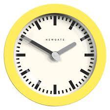 andromeda yellow wall clock buy now at habitat uk furniture