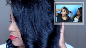 my hair fell out color treated relaxed hair update live