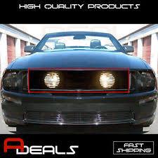 2005 Mustang Gt Black Mustang Black Billet Grill Ebay